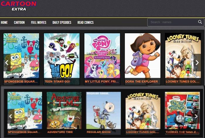 CartoonExtra site